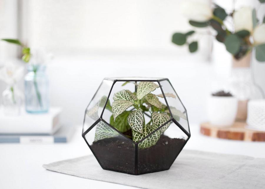 Terrarium Geometric Glass, Terrarium Container, Geometric Planter ...