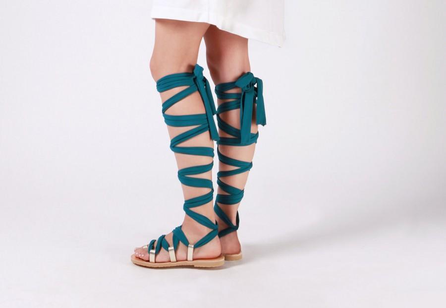 30b6cef2014f Lace Up Sandals
