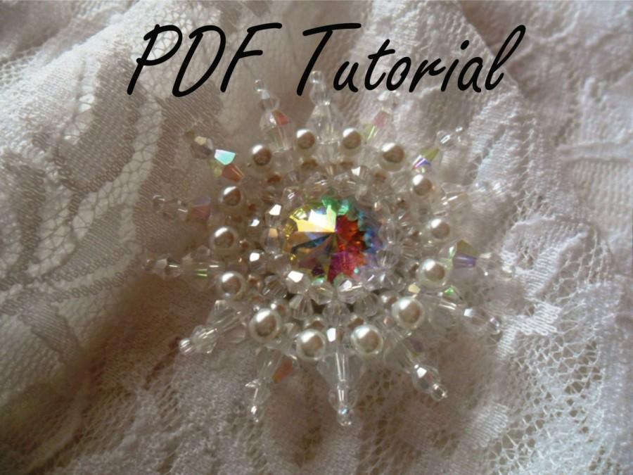 Hochzeit - Taylor Crystal brooch Pearl brooch component Fabric flower Brooch bouquet component Hair pin applique Pattern Wedding decoration