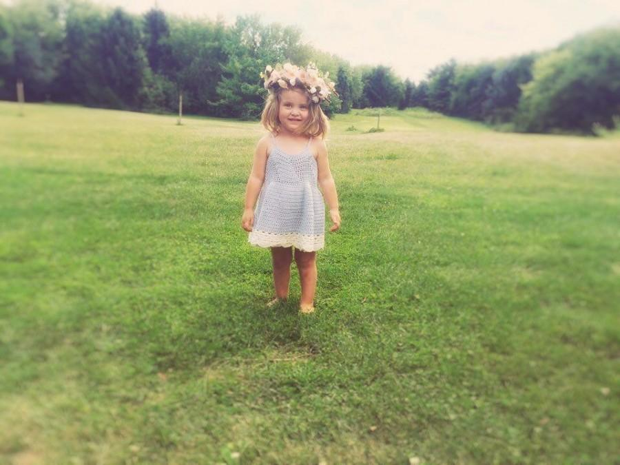 Toddler Boho Flower Girl Dresses