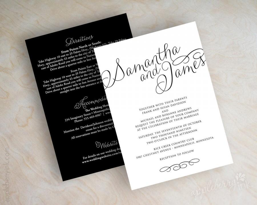 Simple Wedding Invitations, Online Invitations, Elegant Wedding ...