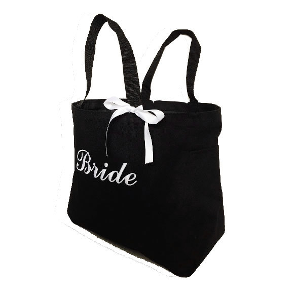 Hochzeit - Bride Tote Bag - Personalized Tote Bags - Monogrammed Tote Bags - Monogrammed Totes - Wedding Totes - Bridesmaid Totes