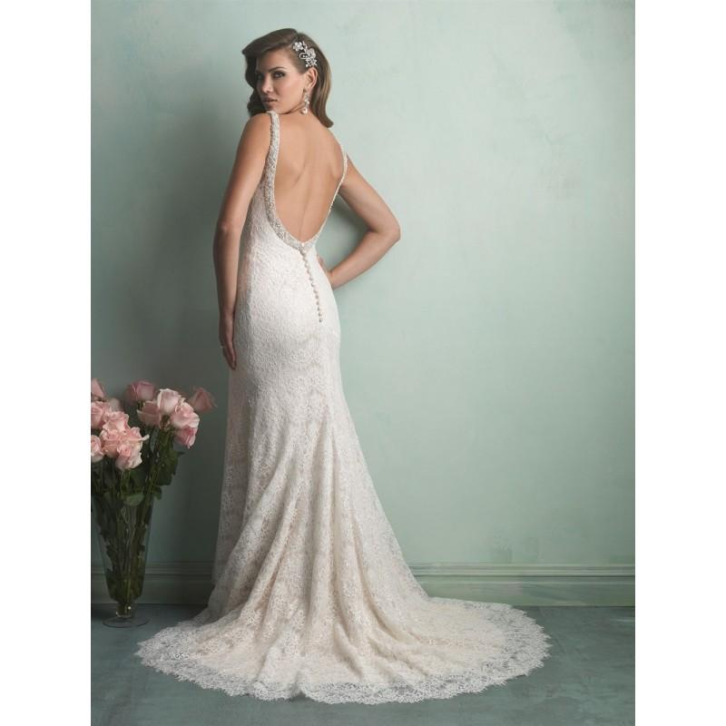 Wedding - Allure Bridals 9170 Lace Low Back Wedding Dress - Crazy Sale Bridal Dresses
