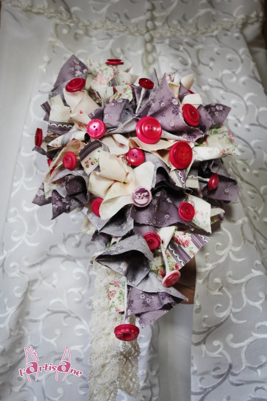 "Свадьба - ""Shabby Chic"" bridal bouquet"