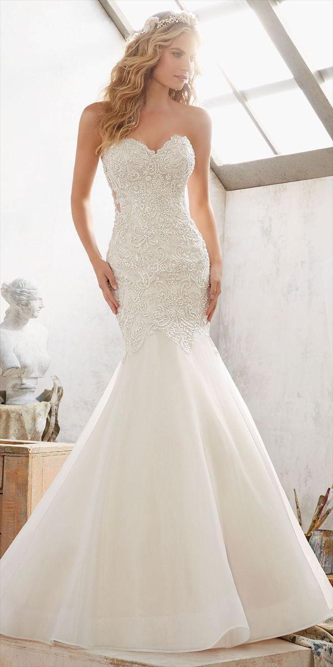 Wedding - Mori Lee by Madeline Gardner Spring 2017 Wedding Dresses