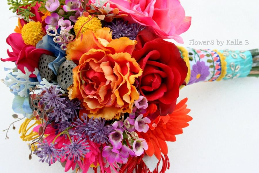 Mariage - Real Touch Silk Bridal Bouquet