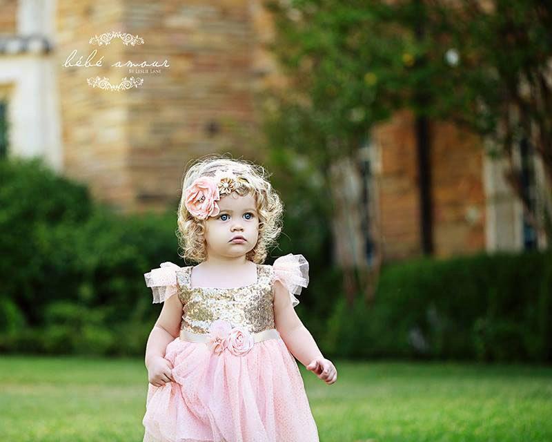 Свадьба - Gold Flower Girl Dress, Tutu Birthday Outfit, Flower Girl Dress Embellished Sash, Flower Girl Tutu Dress..Cream, Gold Rustic Lace Dress