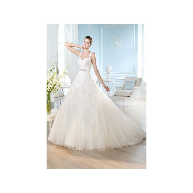 Hochzeit - Vestido de novia de San Patrick Modelo HAMDI - 2014 Princesa Tirantes Vestido - Tienda nupcial con estilo del cordón