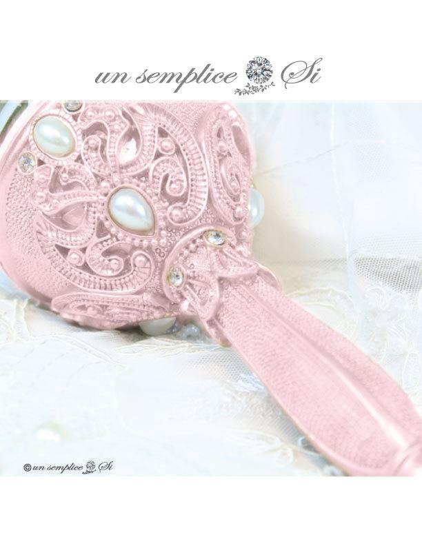 Hochzeit - Pink Bouquet Holder, Colored Bouquet Holders, Bridesmaid Bouquet