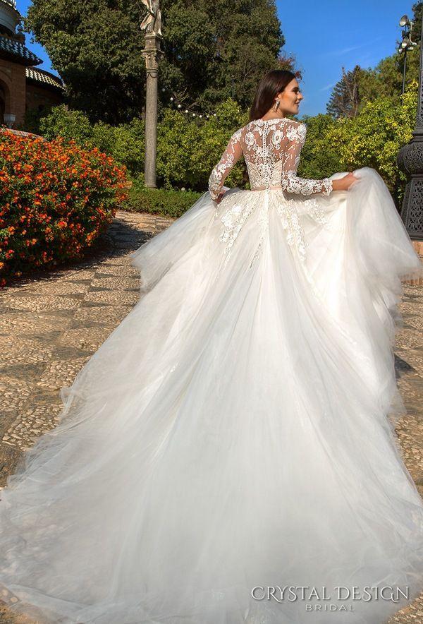 Crystal Design Haute & Sevilla Couture Wedding Dresses 2017 #2652392 ...