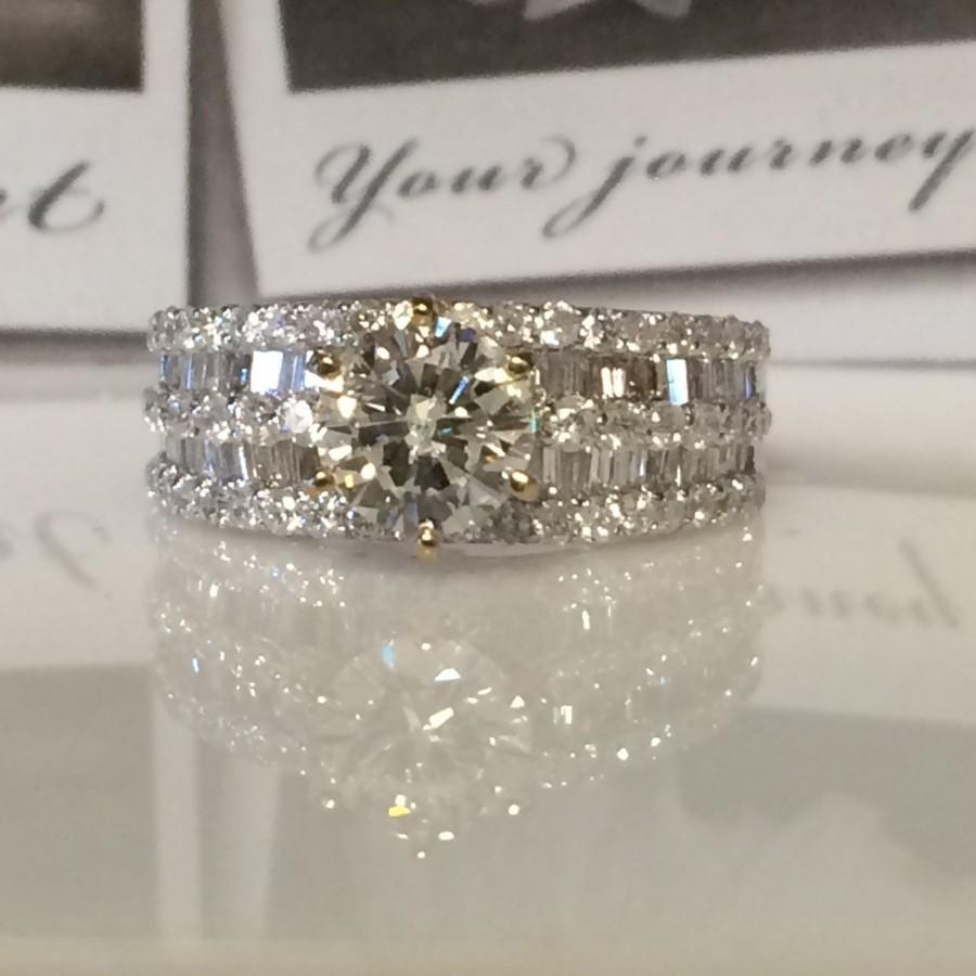 round bands tcw p mm band rings wide platinum sz fullxfull diamond il ring