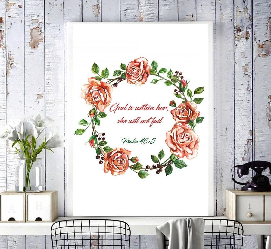 Bible Verses, Psalms, Fashion Illustration, Flowers Painting
