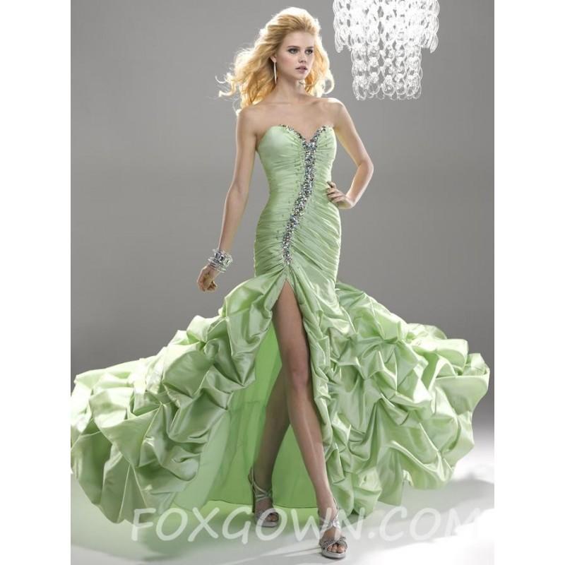 Minze Sexy Sweetheart Neck Ball Gown Prom Kleid - Festliche Kleider ...