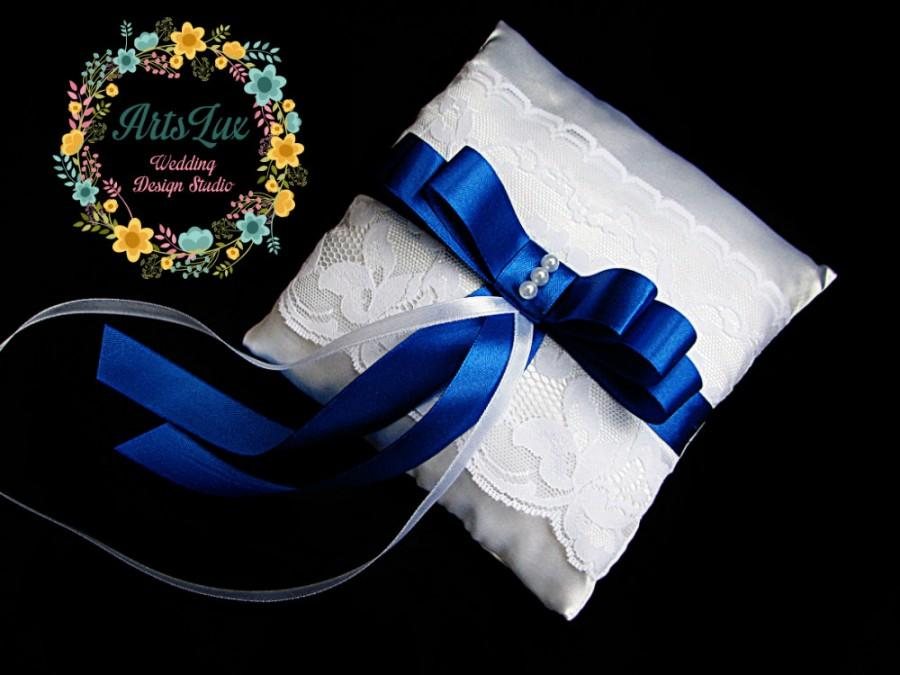 Свадьба - Wedding pillow for rings - Bearer Ring Pillow - Lace Wedding Ring Pillow - Satin Wedding Ring Pillow - Pillow ring - Wedding ceremony