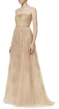 Accessories Carolina Herrera Galaxy Evening Gown 2653014 Weddbook
