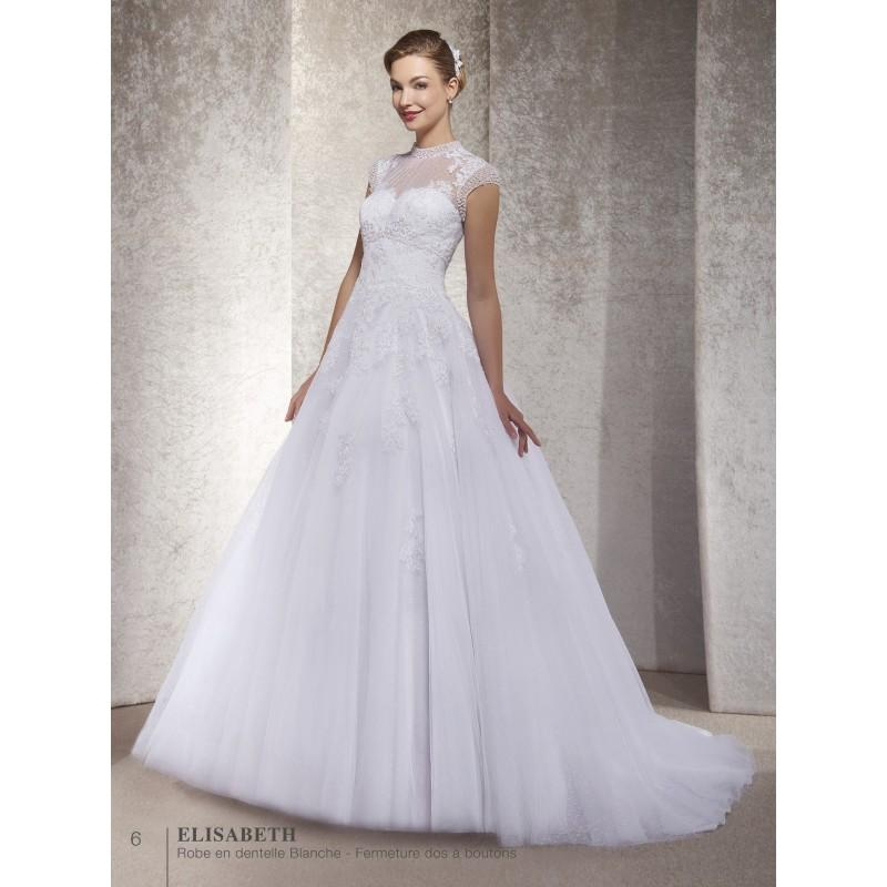 Robes de mari e annie couture 2017 elisabeth superbe for Magasins de robe de mariage milwaukee