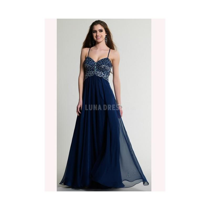 Hochzeit - Exquisite Sleeveless Floor Length A line Spaghetti Straps Chiffon Dresses For Prom With Beading - Compelling Wedding Dresses