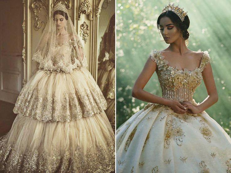 Mariage - 23 Timeless Regal Wedding Dresses Fit For Queens And Princesses