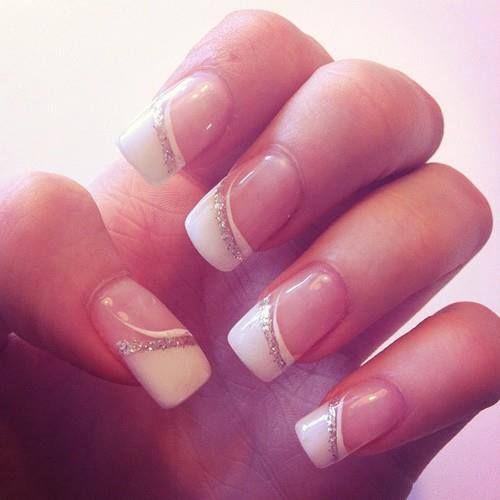 Nail Wedding French Nails 2653134 Weddbook