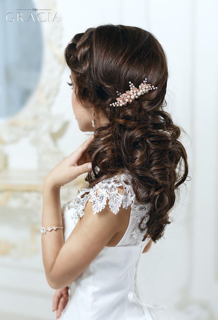 زفاف - Rose Gold Hair Comb Rose Gold Hair Piece Rose Gold Hair Accessories Rose Gold Bridal Hair Comb Rose Gold Wedding Comb Rose Gold Head Piece