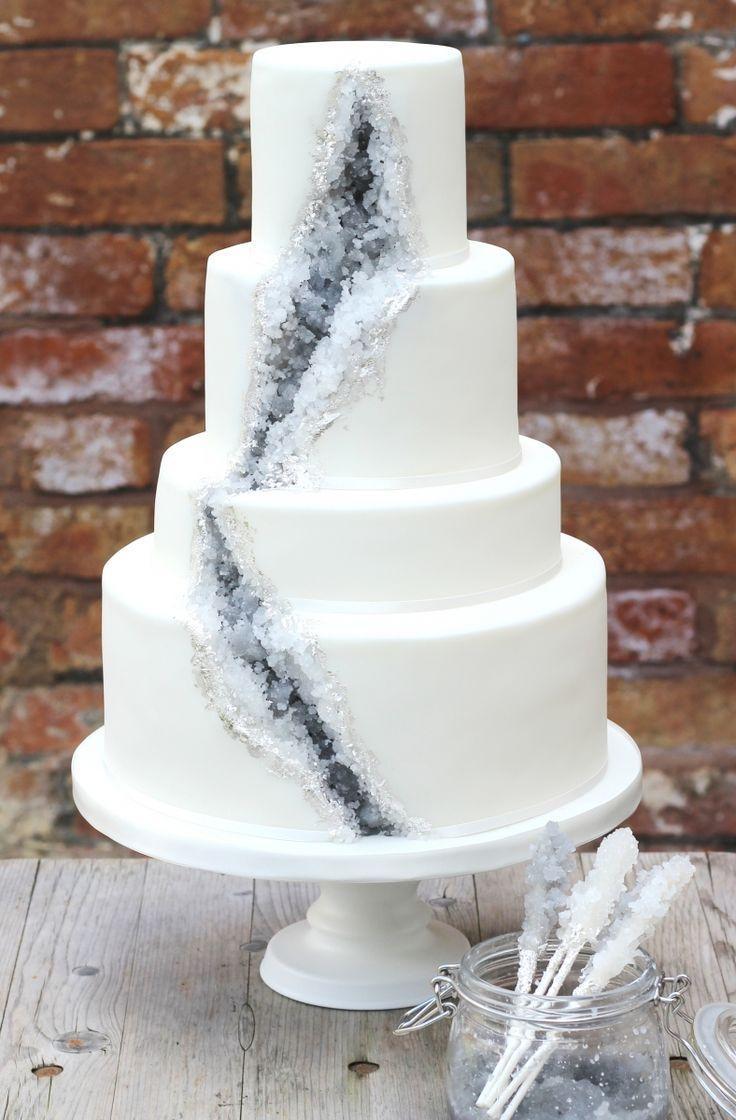 Mariage - Rock Candy cake