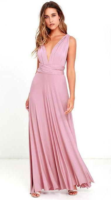 Wedding - Soph's Convertible Maxi Dress BridesMaids Dress prefect for a wedding, vacationing or strolling on the beach.