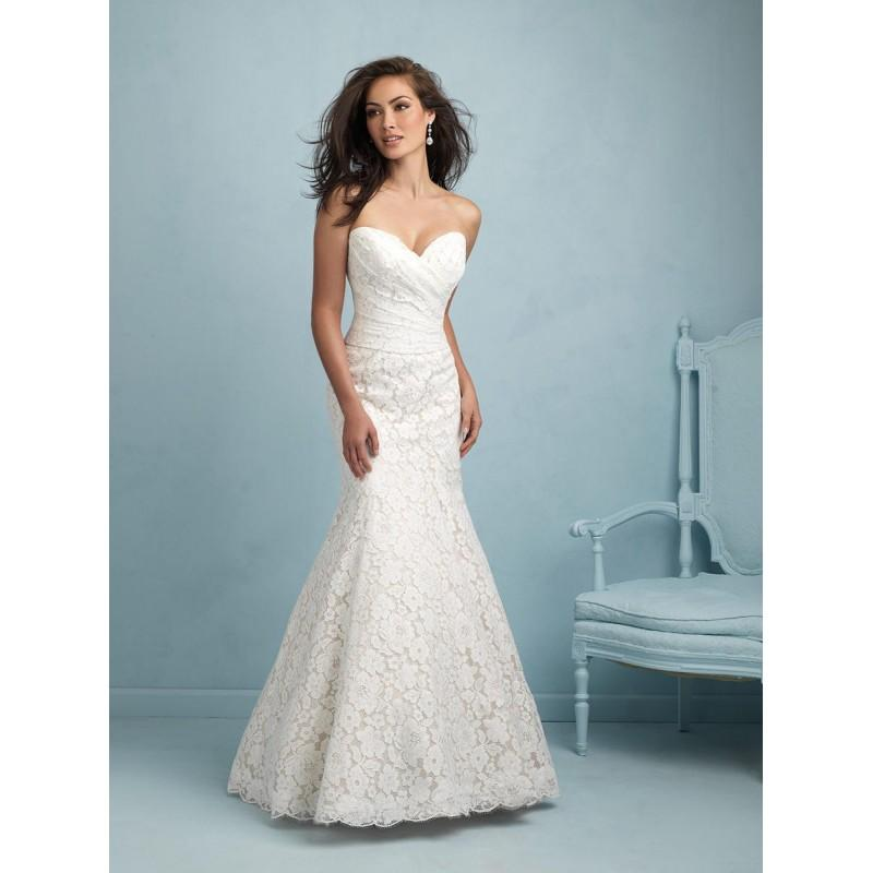 Свадьба - Allure Bridals 9210 White,Ivory,Champagne/Ivory Dress - The Unique Prom Store