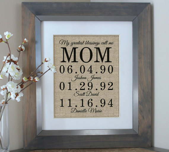Mariage - Gifts for Mom