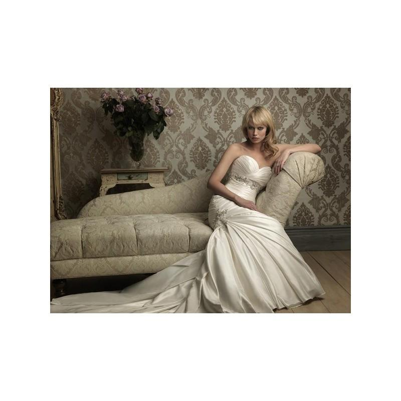 Wedding - Fabulous Mermaid Pleated Bodice Beaded Sweetheart Neckline Satin Wedding Dress In Canada Wedding Dress Prices - dressosity.com