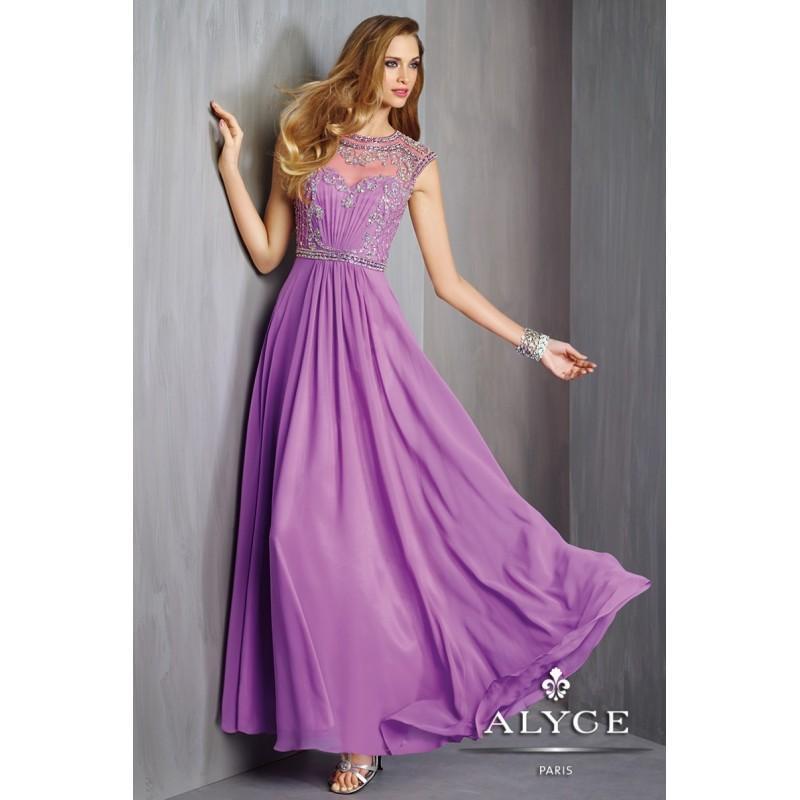 Bonito Prom Vestidos Alyce Friso - Ideas para el Banquete de Boda ...