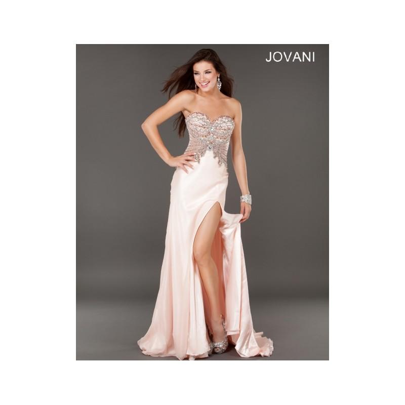 Wedding - Classical Affordable Cheap New Style Jovani Prom Dresses  1932 Blush New Arrival - Bonny Evening Dresses Online