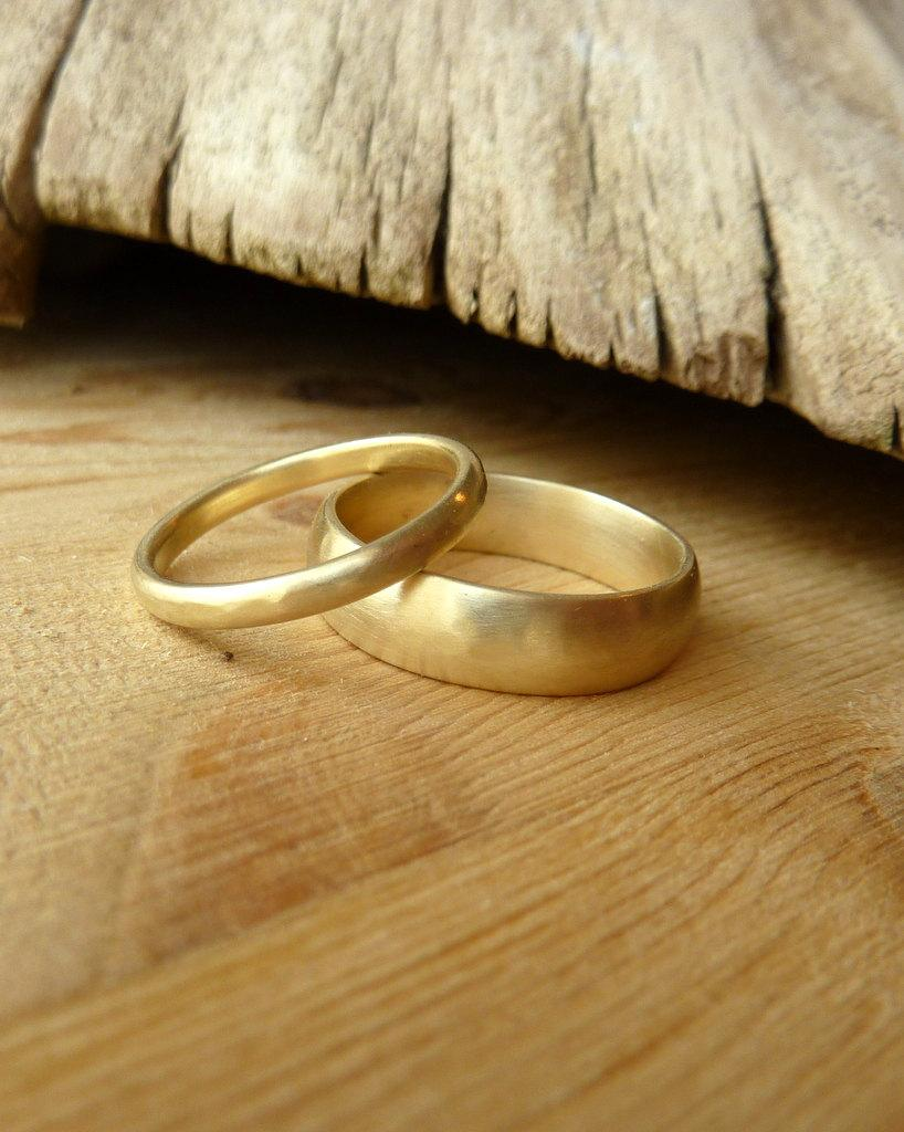 Свадьба - His and Her Wedding Bands-deposit listing