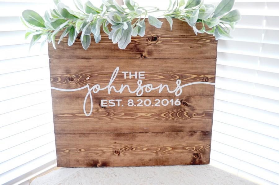 Wedding Guest Book Sign Custom Wooden Guest Book Sign Rustic ...