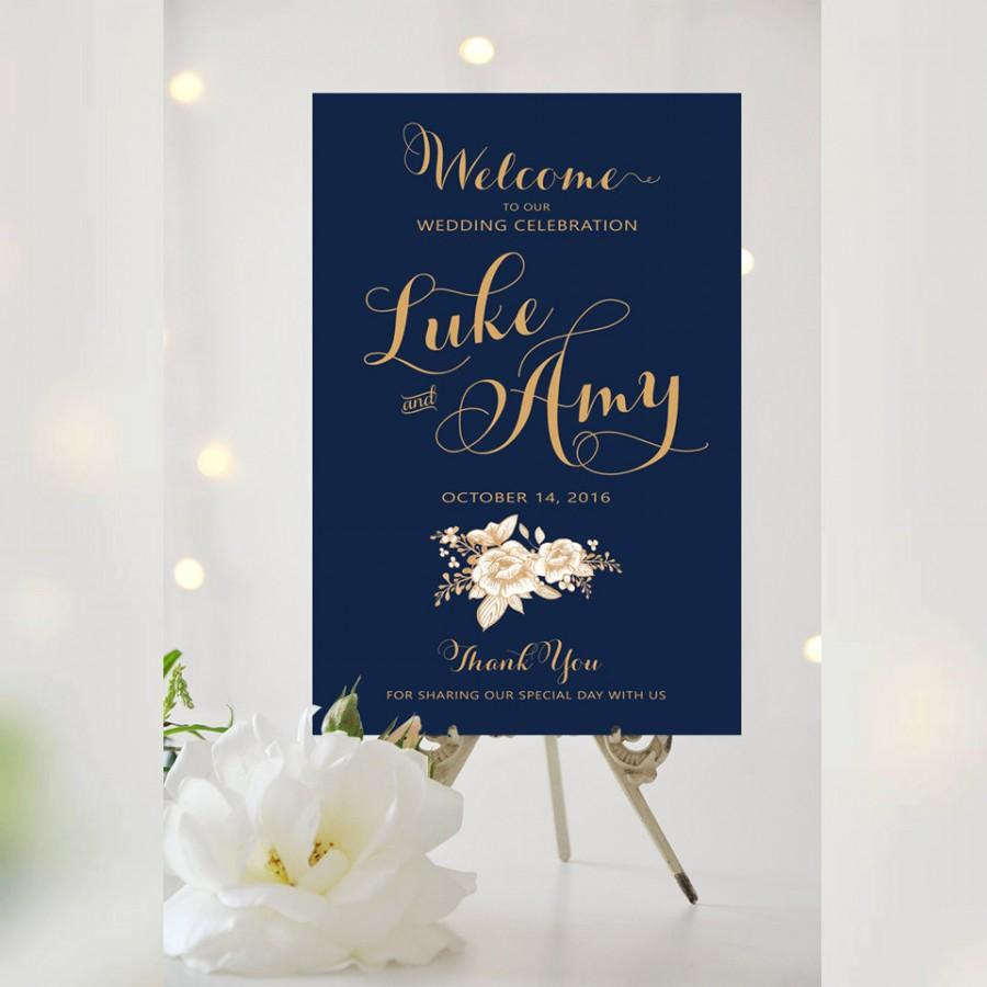 Mariage - Wedding Welcome Sign