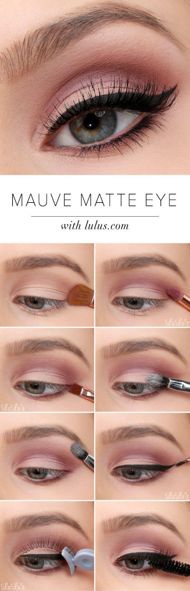 Свадьба - Matte Eye Makeup