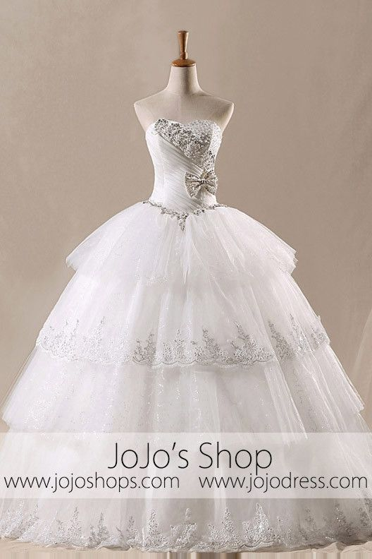 Mariage - Strapless Wedding Dress