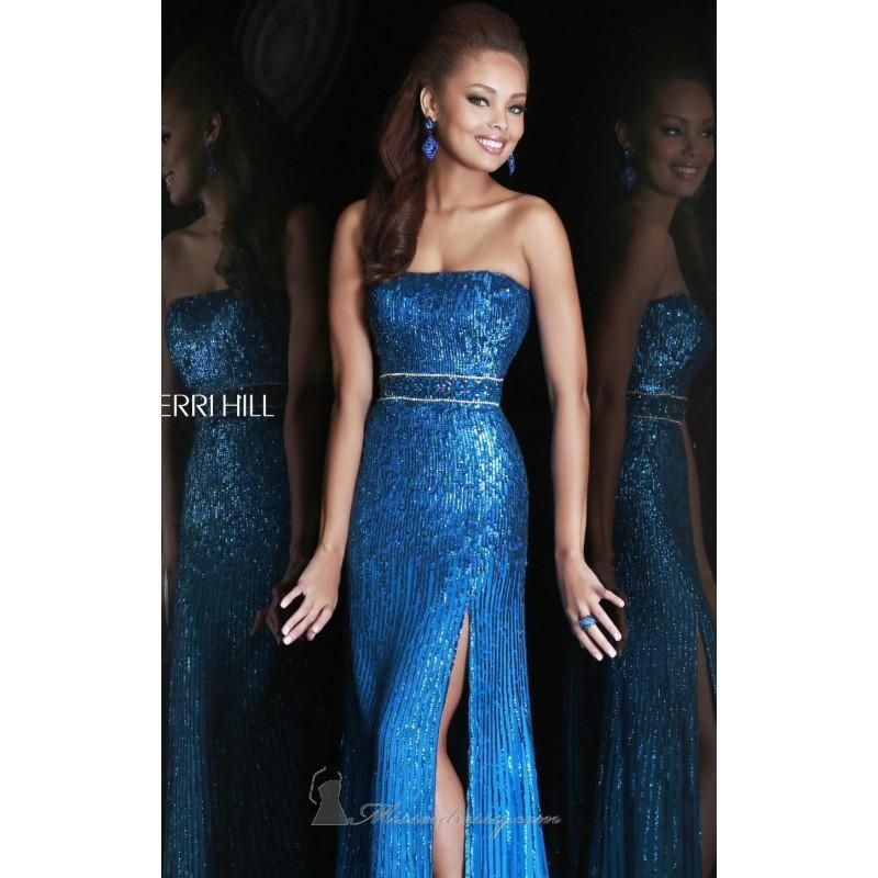 Strapless Gown By Sherri Hill 8542 Dress - Cheap Discount Evening ...