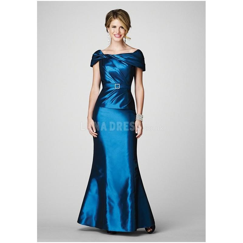 Mariage - Timeless Taffeta Floor Length Mermaid Off the Shoulder Mother of the Bride Dresses - Compelling Wedding Dresses