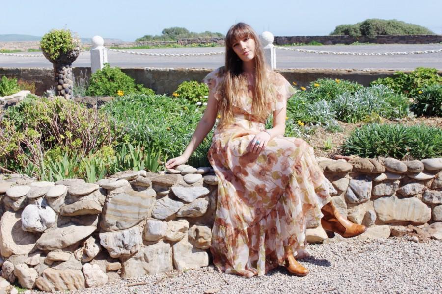 Mariage - Boho Dress Beach Wedding - Boho Bridesmaid Dress - Bohemian Festival Long Dress - Maxi Dress For Gift - Romantic Bridesmaids Maxi Dresses