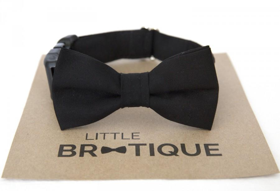Mariage - Black Dog Bow Tie Sent 3-5 days after you order