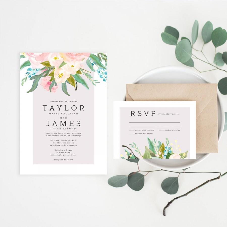 Wedding - Printable Wedding Invitations
