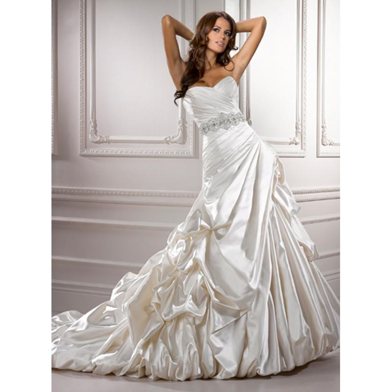 Boda - Maggie Sottero Monterey Bridal Gown (2012) (MS12_MontereyBG) - Crazy Sale Formal Dresses