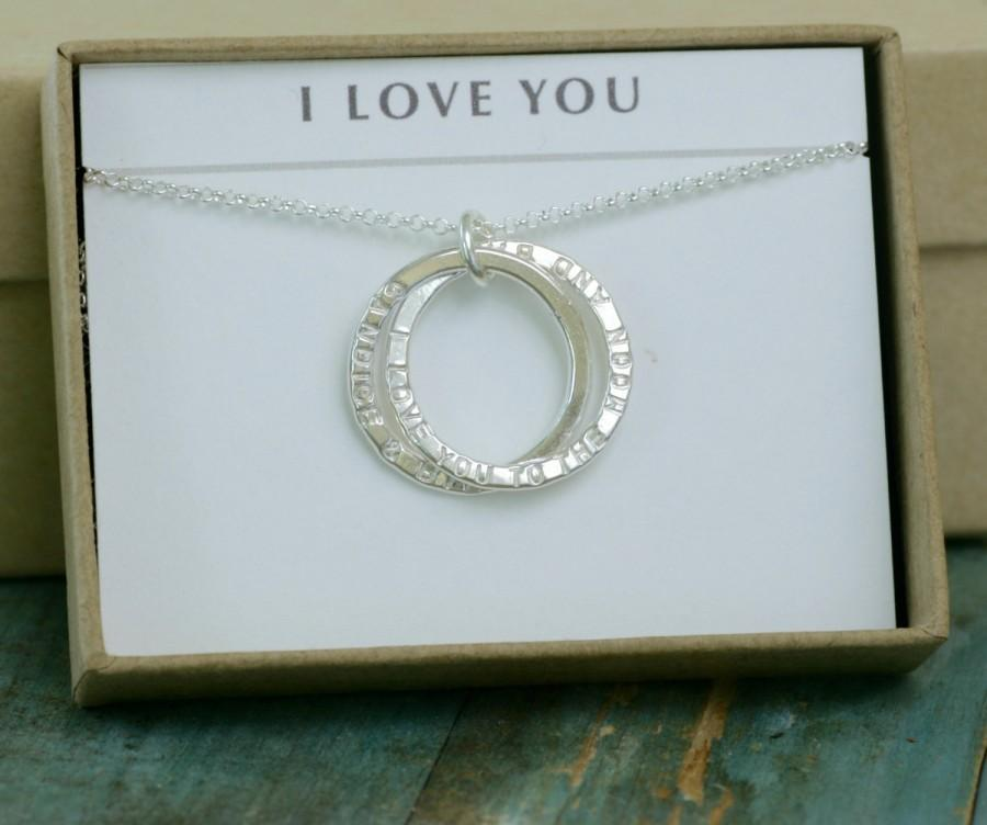Gift For Bride From Groom Engagement Gift For Bride Love Necklace