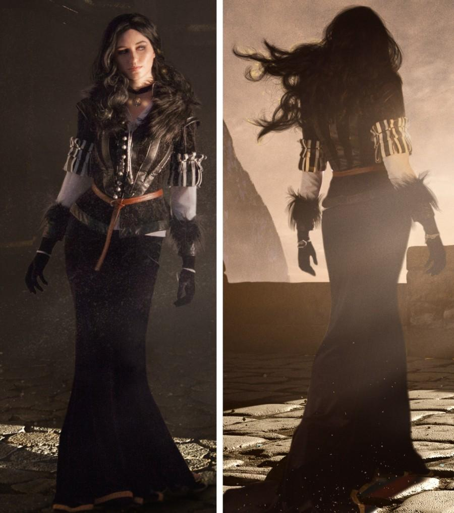 Свадьба - Yennefer Cosplay Costume, The Witcher 3: Wild Hunt Cosplay, Halloween costume, Cosplay Costume,Handmade Costume