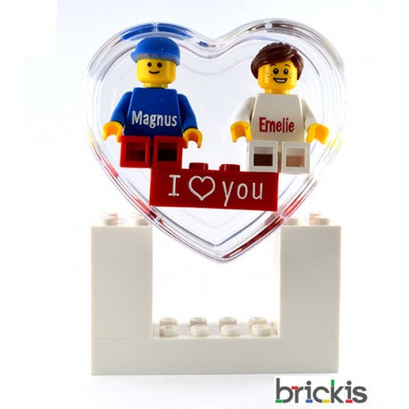 Mariage - Personalised LEGO® set I Love You for Valentine's day