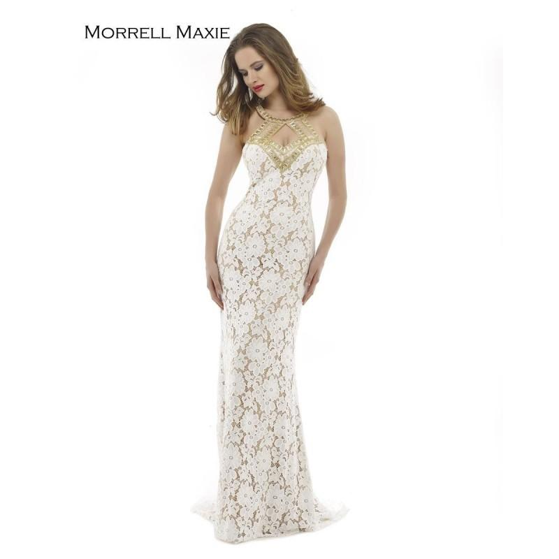 Hochzeit - Ivory/Nude Morrell Maxie 15147 Morrell Maxie - Top Design Dress Online Shop