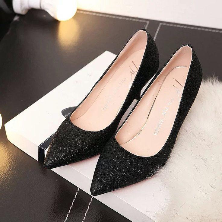 زفاف - 2016 New Pointed Toe Suede High Heels Fashion Sexy High Heel Shoes Women Pumps Wedding Shoes Wedding Shoes
