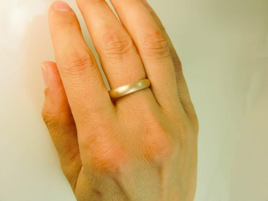 14 Karat Gold Ring 4mm X 1 5mm Gold Wedding Band Mens Gold