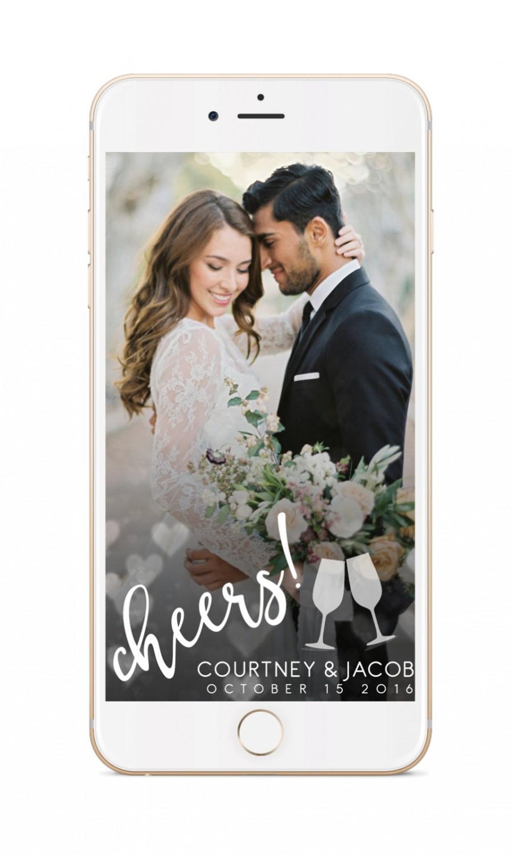 Mariage - Snapchat Geofilter Wedding: Custom Geofilter, Snapchat Geofilter, Personalized Geofilter, Wedding Snapchat Filter, Custom Wedding, gift 006