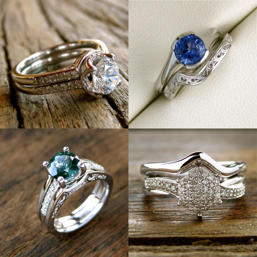 Mariage - Order Your Custom Made or Matching Wedding Ring Here